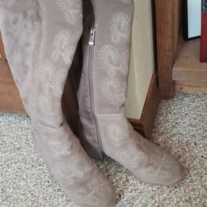 Sbicca Vintage Collection embroidered OTK boot